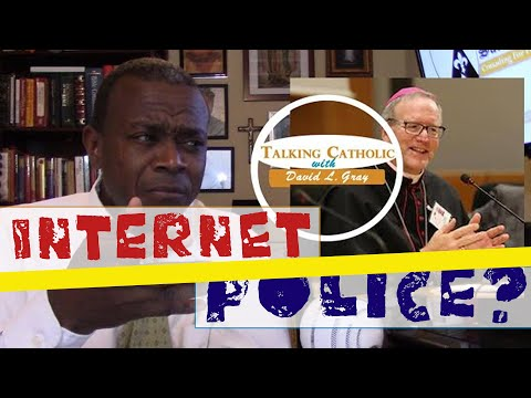 Bishop Robert Barron and the Catholic Internet Police