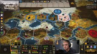 Nordic Engineering 20 Turns - Ranked - LIVE stream - Scythe Board Game - 8/28/2020