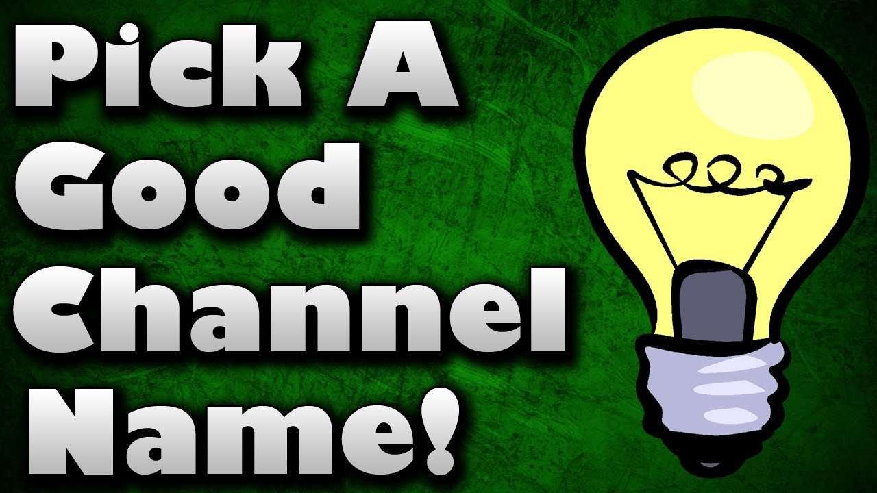 how to create a good youtube channel