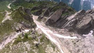 somewhere in paradise wingsuit proximity flying by le blond