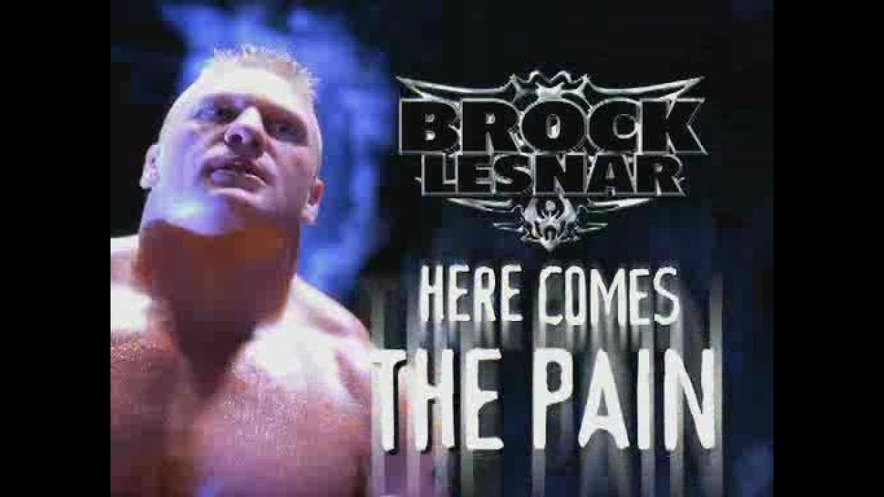 Brock Lesnar Here Comes The Pain Dvd Review