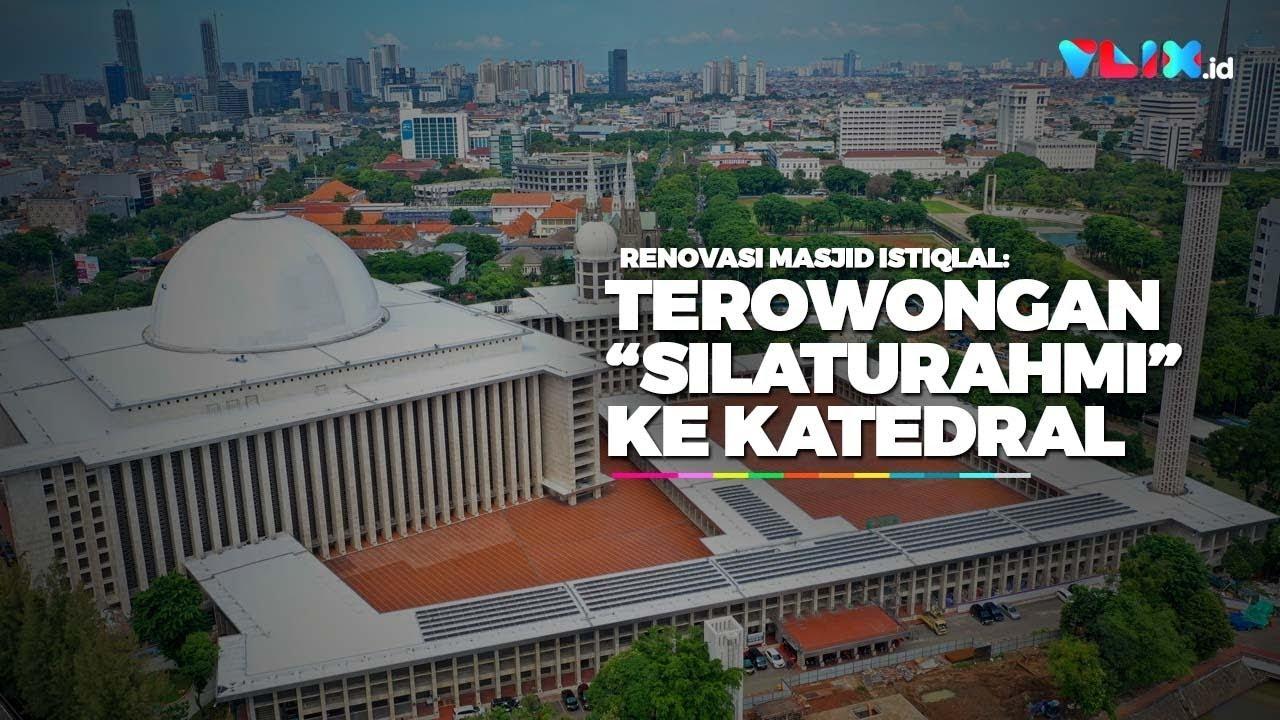 Masjid Istiqlal Bakal Punya Terowongan Silaturahmi Ke Katedral