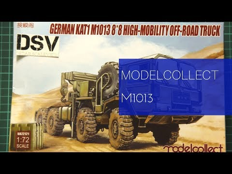 Modelcollect 1/72 M1013 (UA72121) Review
