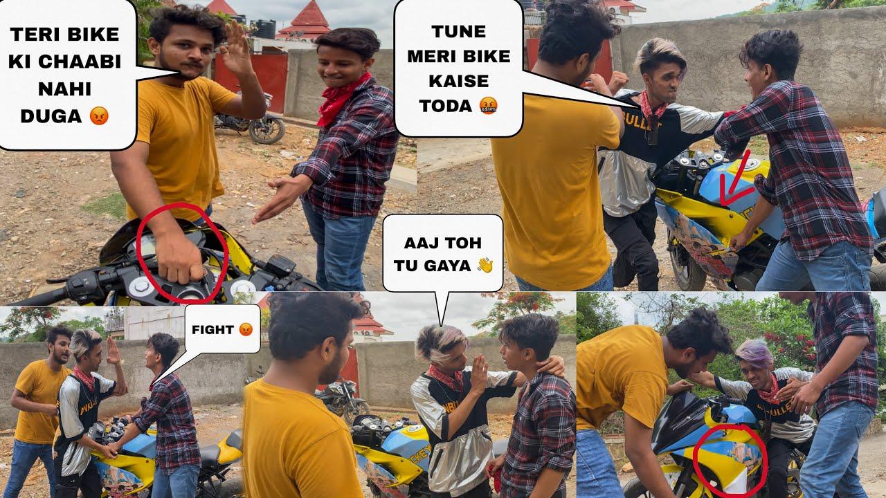 Ye Log Ne Meri Bike Tod Diye 😩 || Uman Sayyed