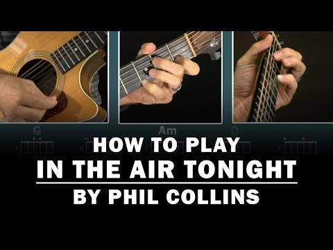 In The Air Tonight (Phil Collins) | How to Play | Beginner guitar lesson