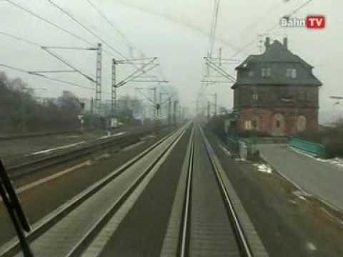 World railways. Germany. Frankfurt - Regensburg