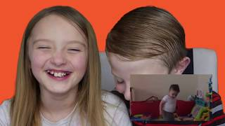 KIDS WATCHING FUNNY VINES REACTION VIDEO!