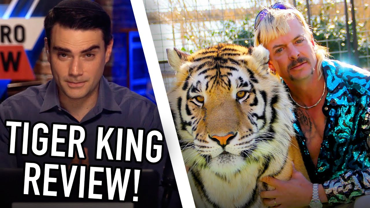 Ben Shapiro Reviews Netflix's 'Tiger King!'