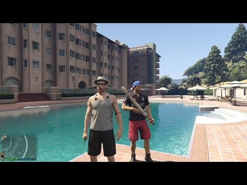 GTA V - BRUCE WILLIS Y ASHTON KUTCHER