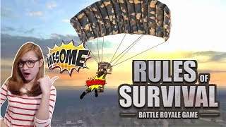 🔴 LIVE Rules Of Survival Mobile - Challenge Tanpa Suara biar GREGET !!!
