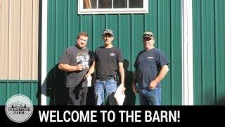 The Barn: Guns, Tactical Flashlight, and 3 Dudes Fix a Pressure Washer!