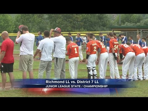 District 7 wins Junior League Baseball state championship