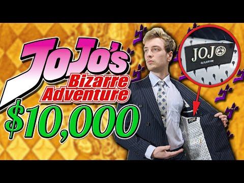 I Spent $10,000 On JoJo Merch