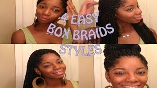 How to: Style your Box Braids or Senegalese Twist Thumbnail