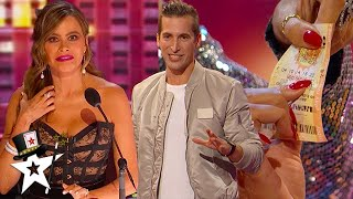 Max Major Plays Roulette With Heidi & Shocks Us All on AGT 2020 | Magicians Got Talent