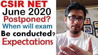 CSIR NET June 2020 exam date form fill up | When will CSIR NET be conducted?