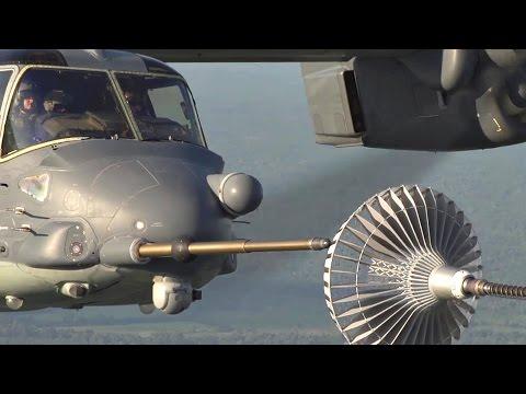 Pilot With Mad Skills: V-22 Osprey Aerial Refueling
