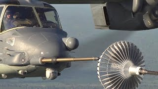 Pilot With Mad Skills: V-22 Osprey Aerial Refueling
