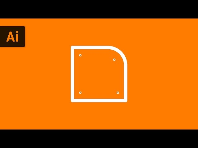 How to Round Corners with Live Corners Widget | Illustrator Tutorial