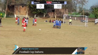 Football Cup Daheru 25 January 2019 Bhari vs Cheema