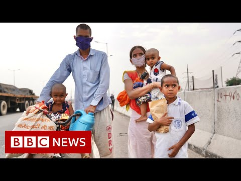Coronavirus India: Death And Despair As Migrant Workers Flee Cities - BBC News