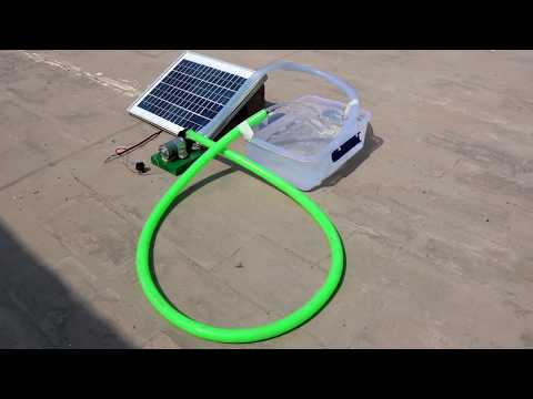 How to Make a mini SOLAR WATER PUMP at home // New Easy Way