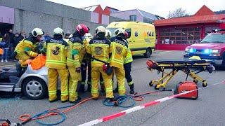 [Accident VL] Opération de désincarcération par les secours
