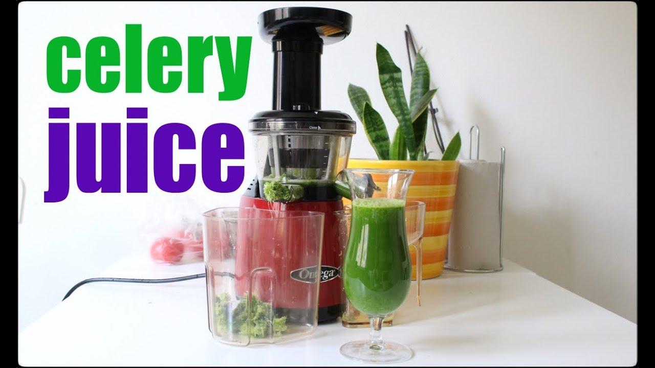 omega celery juice recipe