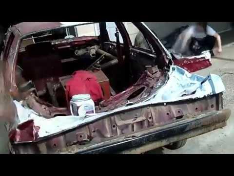 Derby Compact Car Paint Job
