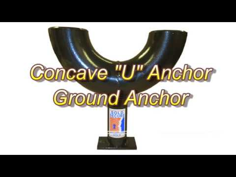 Introducing the Concave U Anchor – concrete-in Ground Anchor