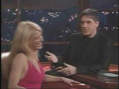 Poppy Montgomery - interview on Craig Ferguson n°2
