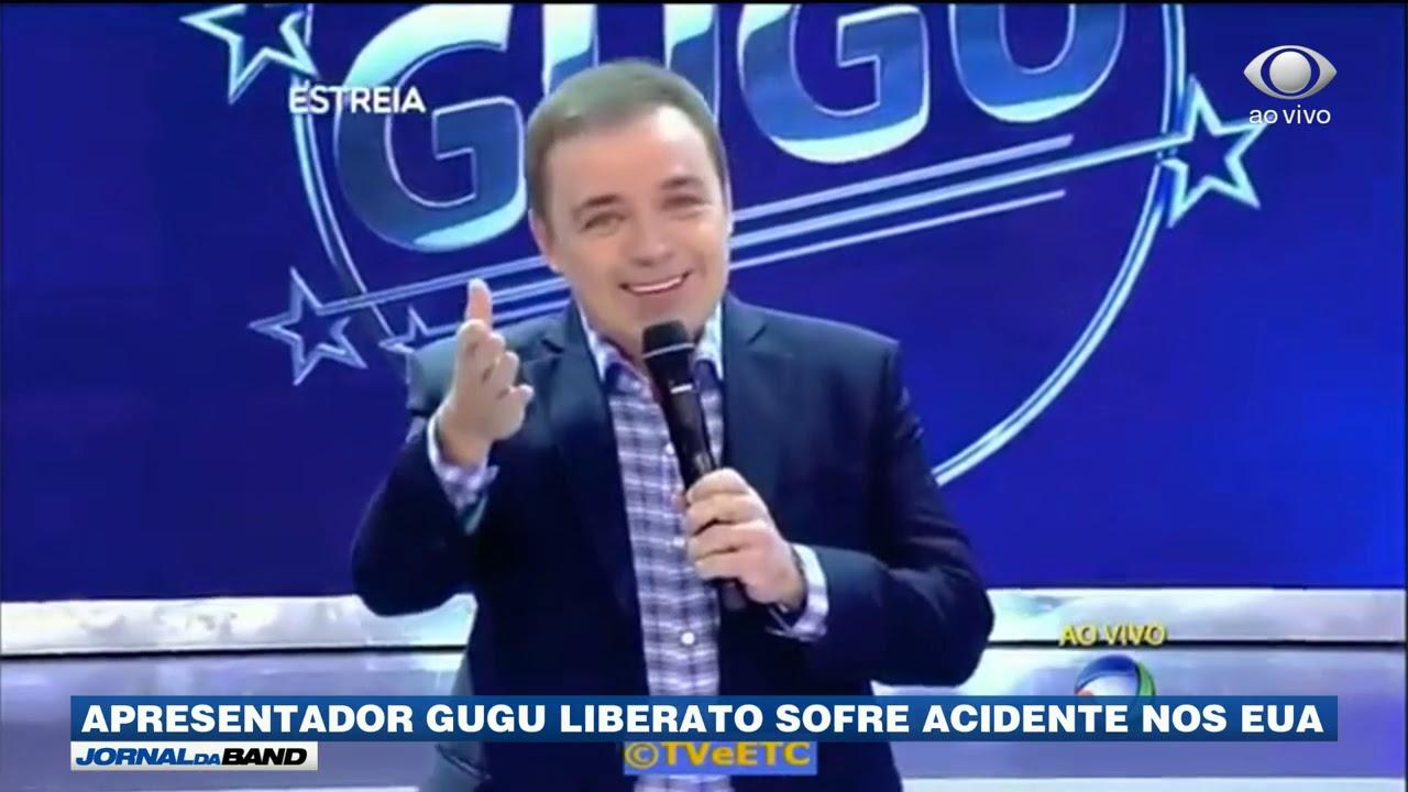 Gugu Liberato sofre acidente nos EUA e é internado em estado grave