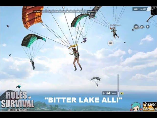 """BITTER LAKE ALL!!"" Stream highlights #1 (ROS BISAYA)"
