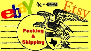 How I Ship Sales for Ebay and Etsy - 4 Items Packing and Shipping Out - How to Ship Jewelry & Kits