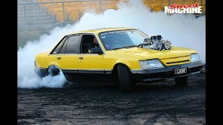 Good Fryday burnouts at Sydney Dragway