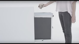Simplehuman pull-out trash can and recycler