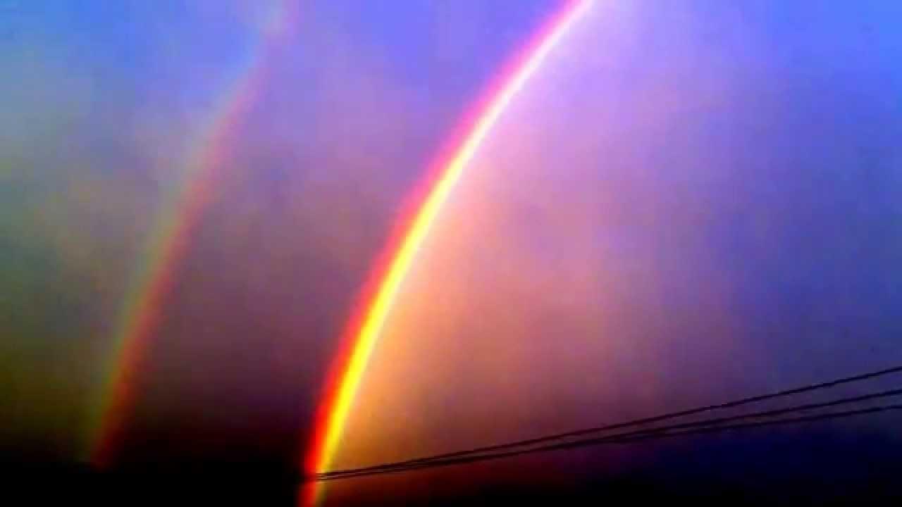 El mejor arcoiris en México - YouTube