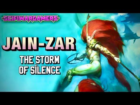 Jain Zar The Storm Of Silence - Warhammer 40k Lore - Psychic Awakening - Eldar - Aeldari
