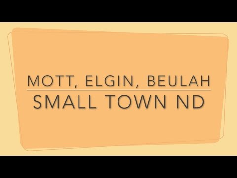 Small Town ND