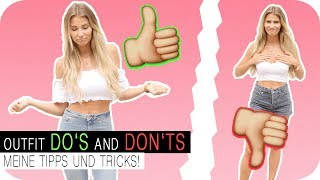 OUTFIT HACKS - Meine DO's & DON'Ts ♡ | 4K | AnaJohnson