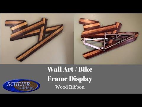 Wall Art | Bike display | DIY Woodworking