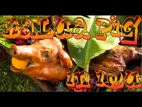 How to Make Kalua Pig in a Traditional Hawaiian Imu for a Luau
