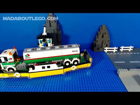 LEGO City Train Ferry 343