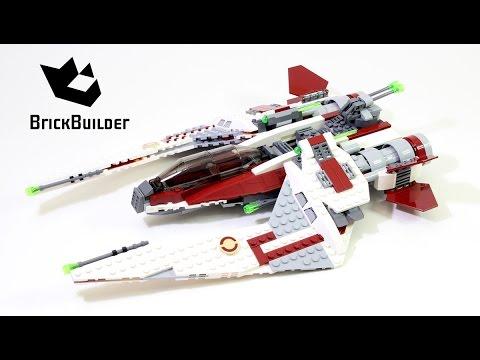 Lego Star Wars 75051 Jedi Scout Fighter - Lego Speed Build