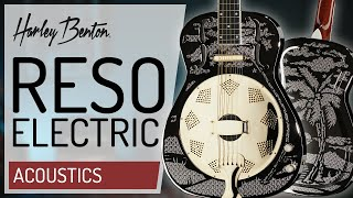 Harley Benton - CLR Reso Electric -