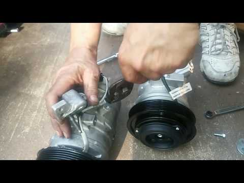 Honda Pilot A/C Compressor and Condenser Replacement, and Evacuation & Recharge Service