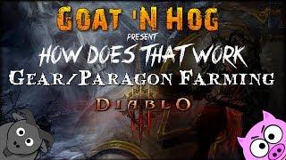 Diablo III - Paragon/Legendary Gear Farming Route