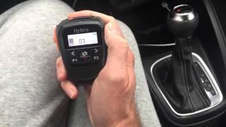 Hytera SM27W1 Bluetooth Speaker Microphone - M6JKA