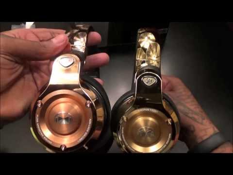 Monster 24K Rose Gold Professional DJ-style headphones