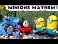 Despicable Me 3 Minions Mayhem with Thomas and Friends - Funny Family Fun Kids Video Toy Story TT4U